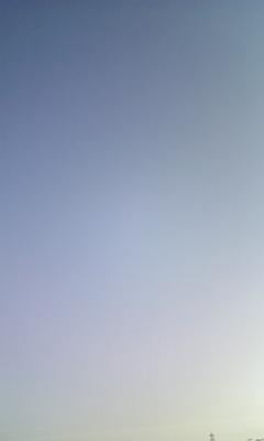雲ひとつない空