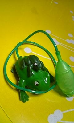 元祖ジャンピング蛙!