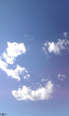 空が〜(^-^)