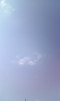 窓から〜風…☆