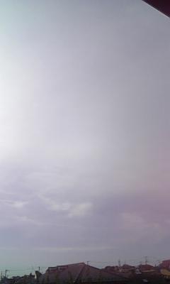 雨じゃない朝(^!^)<br />  ☆