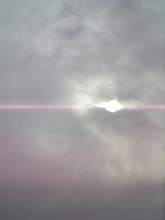 曇り空から〜ピッカ〜ン☆